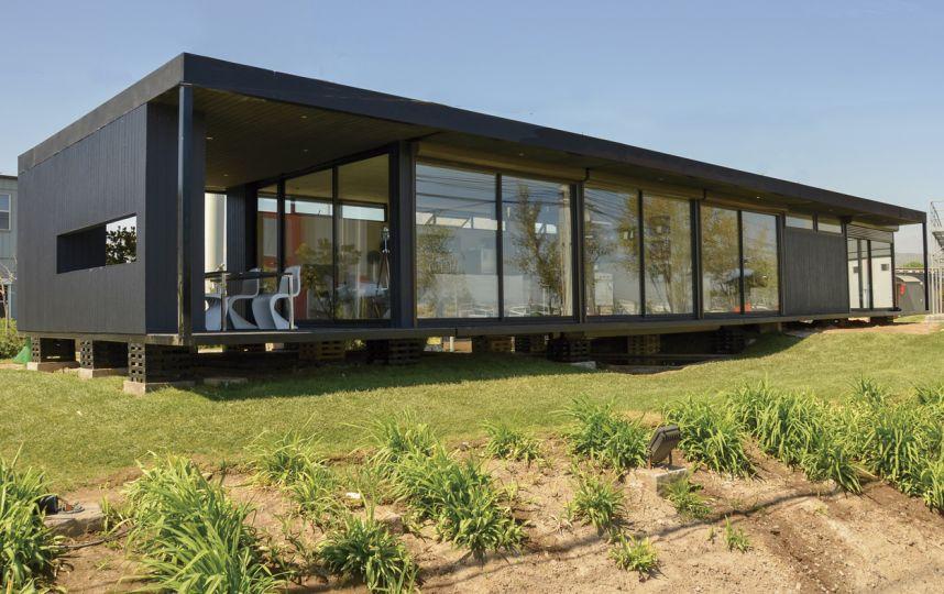 Actualidad la construcci n prefabricada se asienta en - Casas metalicas prefabricadas ...