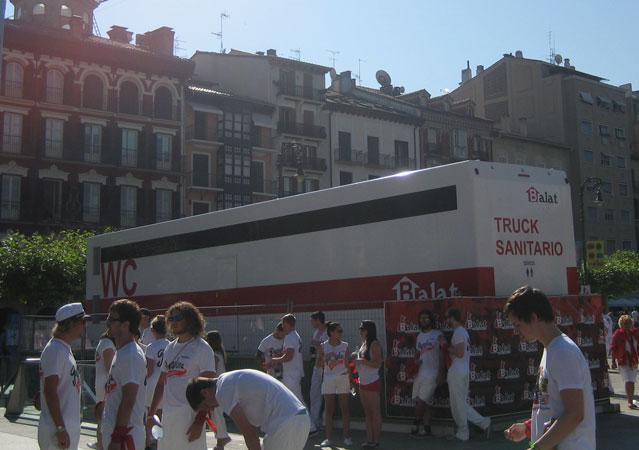 truck sanitario